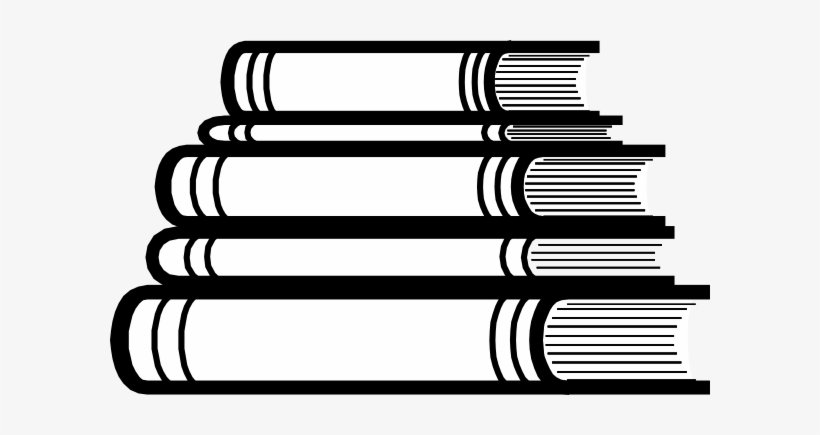 Stack of books spine clipart black and white vector freeuse stock Stack Of Books Clip Art At Clker - Books Stacked Svg ... vector freeuse stock