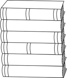 Stack of books spine clipart black and white transparent library Book Spine Clipart | Free download best Book Spine Clipart ... transparent library