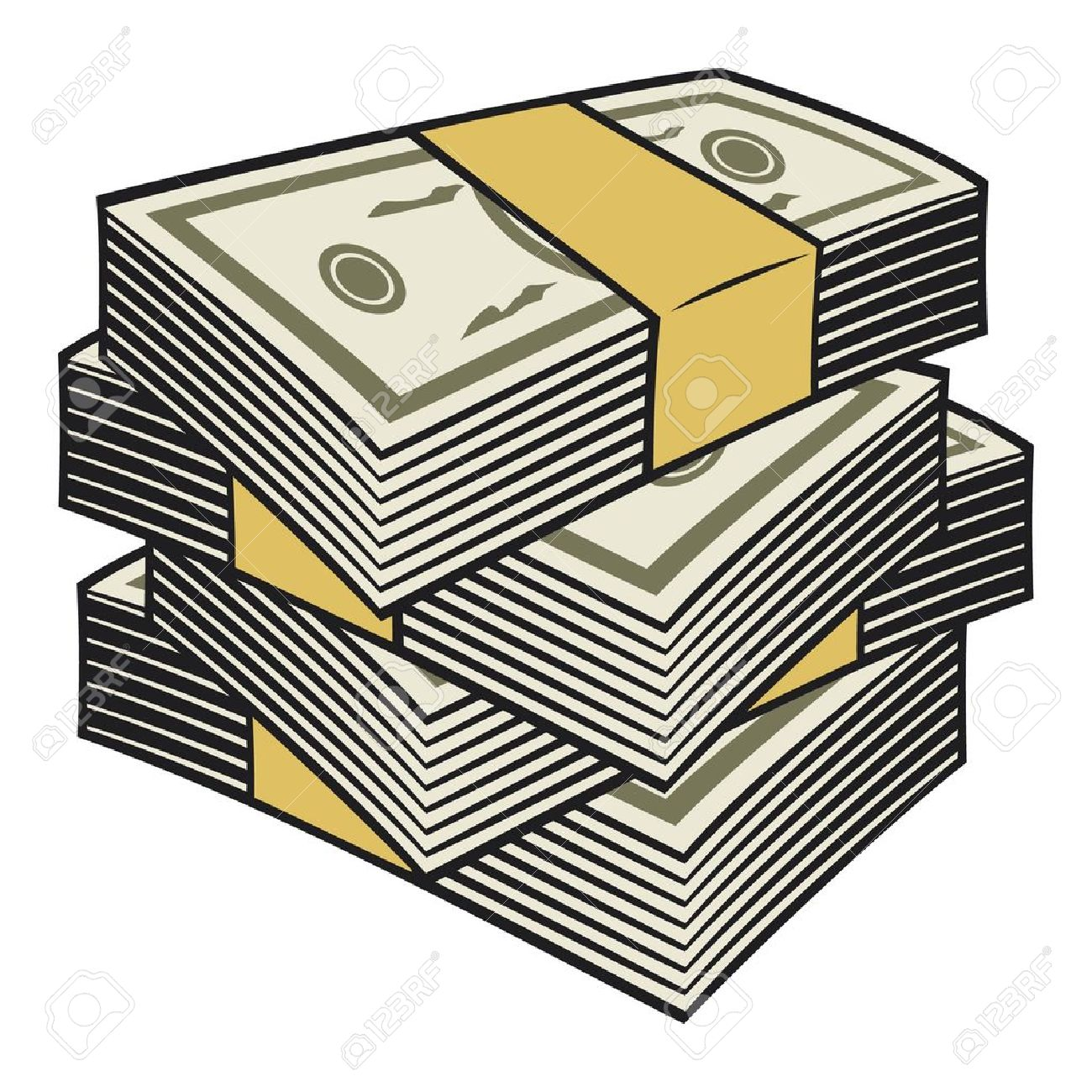 Stack of dollars clipart banner library stock Stack Of Money Clipart | Free download best Stack Of Money ... banner library stock