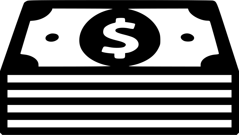 Stack of money clipart black and white clip transparent stock Cash PNG Black And White Transparent Cash Black And White.PNG Images ... clip transparent stock