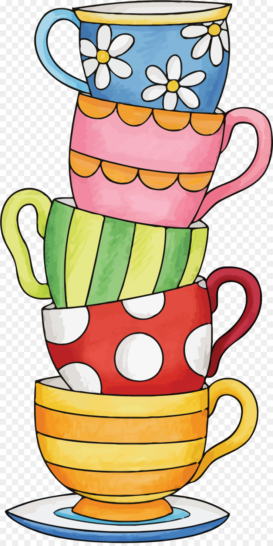 Tea cup pictures clipart clip art freeuse Cup Of Coffee clipart - Tea, Teacup, Drawing, transparent ... clip art freeuse