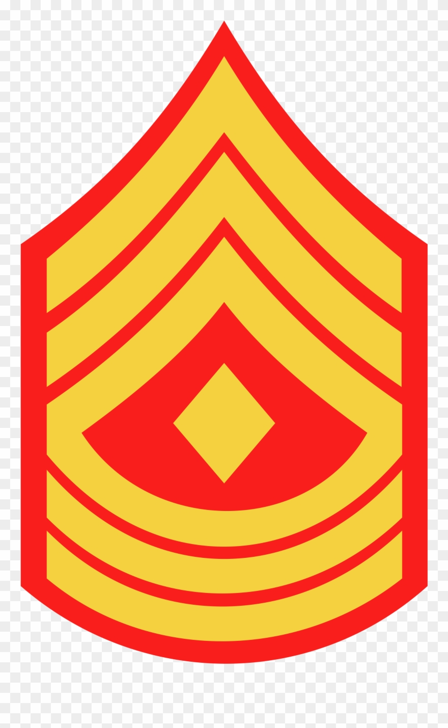 Staff sergeant clipart clip art black and white library First Sergeant - Sergeant Major Usmc Rank Clipart (#407584 ... clip art black and white library