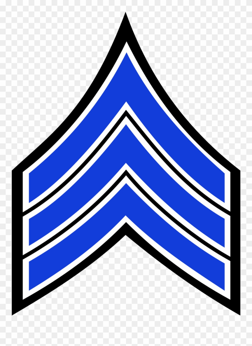 Staff sergeant clipart graphic royalty free download Nypd Sergeant Stripes - Nypd Sergeant Chevrons Clipart ... graphic royalty free download