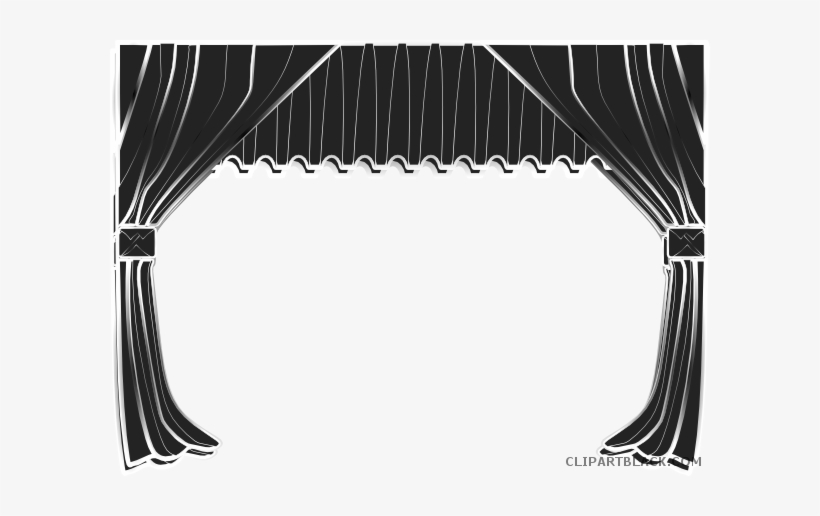 Stage clipart black and white svg transparent Free Black And White Stage, Download Free Clip Art, Free ... svg transparent