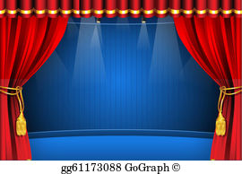 The stage clipart clip art Stage Clip Art - Royalty Free - GoGraph clip art