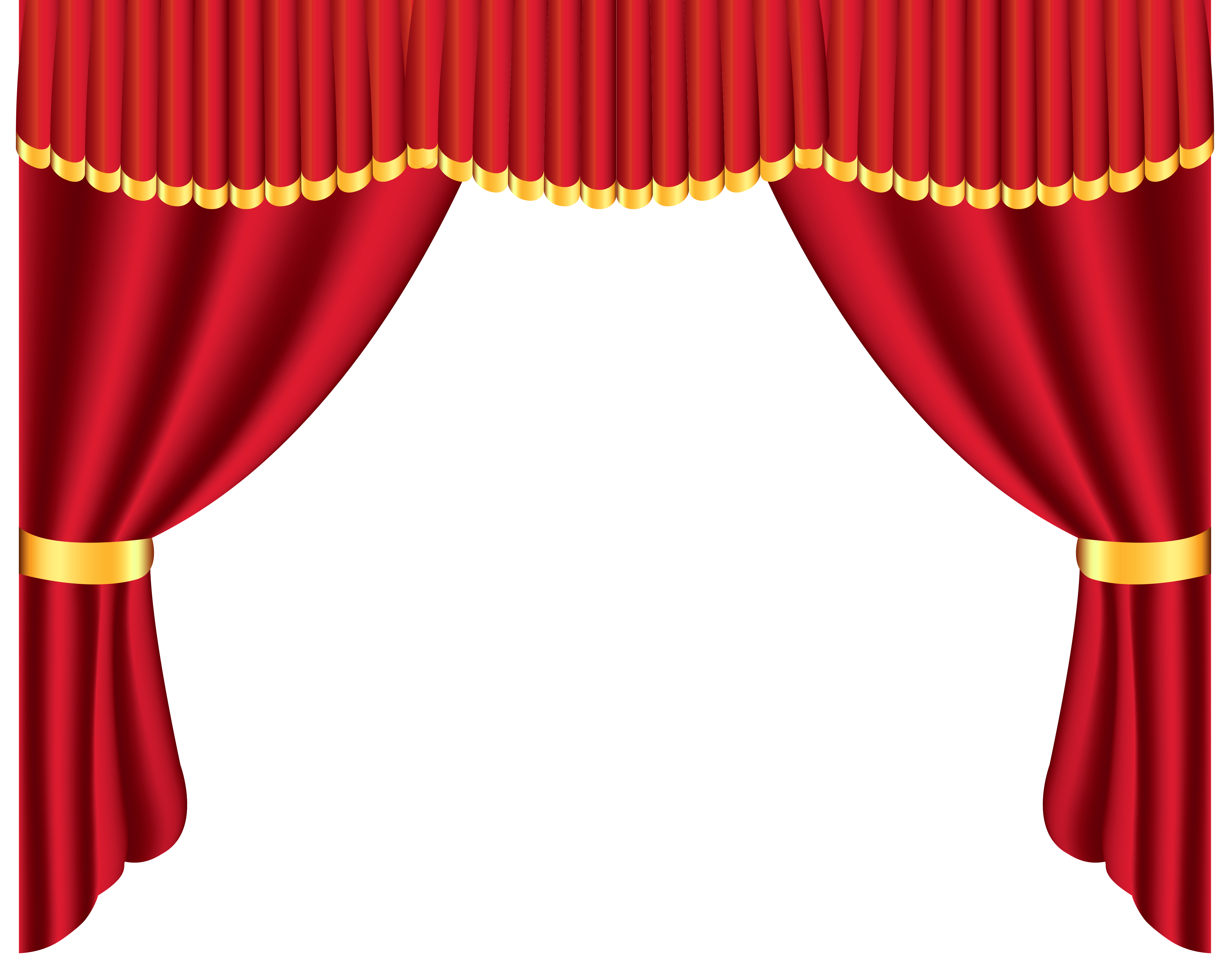 Stage star with lights clipart picture library Transparent Red Curtain PNG Clipart | Gallery Yopriceville - High ... picture library