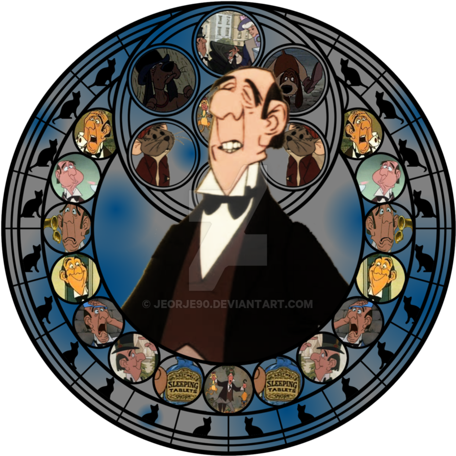 Stained glass star clipart picture library download Disney Villains Stained Glass (Kingdom Hearts style) | Disney ... picture library download