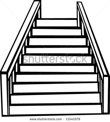 Stairs clipart image black and white download 58+ Clip Art Stairs | ClipartLook image black and white download