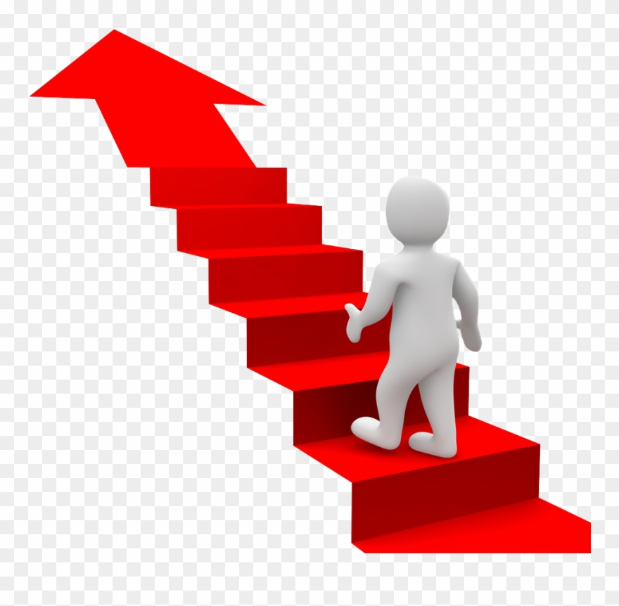 Stairs clipart graphic library Goal Clipart Stair - Stairs For Success Png Transparent Png ... graphic library
