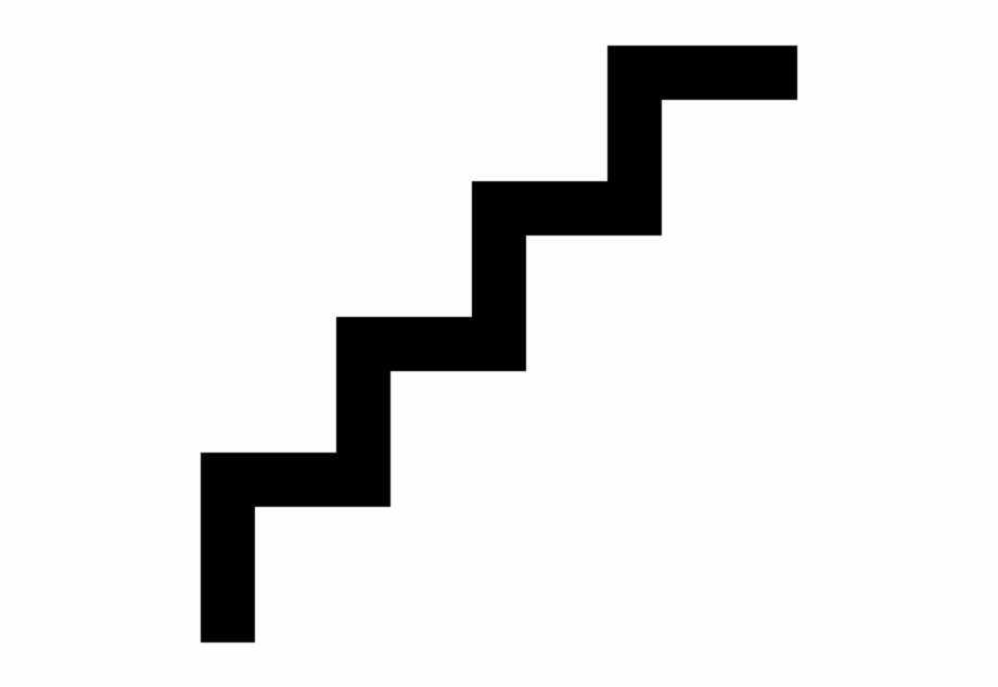 Stairs clipart black and white jpg download This Png File Is About Stairs , Icon - Black And White Steps ... jpg download