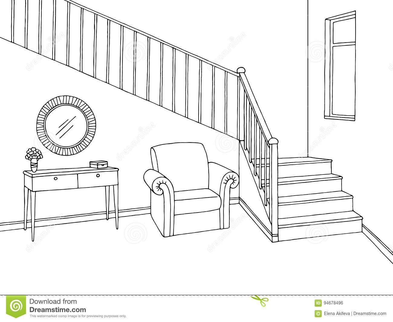 Stairs black and white clipart graphic freeuse stock Stairs clipart black and white 7 » Clipart Portal graphic freeuse stock