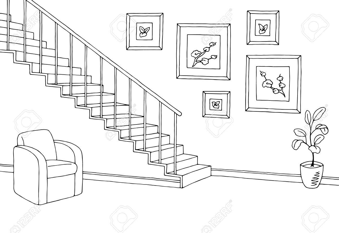 Stairs clipart black and white png royalty free download Stairs clipart black and white 4 » Clipart Portal png royalty free download