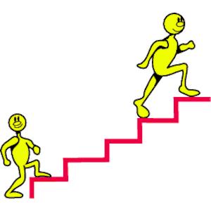 Upstrairs clipart jpg black and white Stairs stair step clipart kid 4 - ClipartBarn jpg black and white