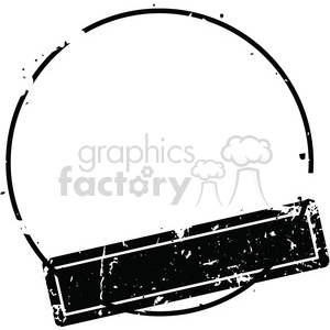 Stamp vector clipart svg royalty free library grunge weathered distressed round stamp vector art clipart. Royalty-free  clipart # 400238 svg royalty free library