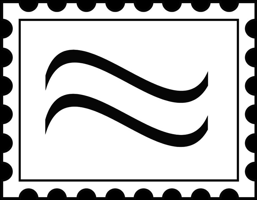 Stamped envelope clipart clip art freeuse Stamped Envelope Clipart - Letter Stamp Clipart - Download ... clip art freeuse
