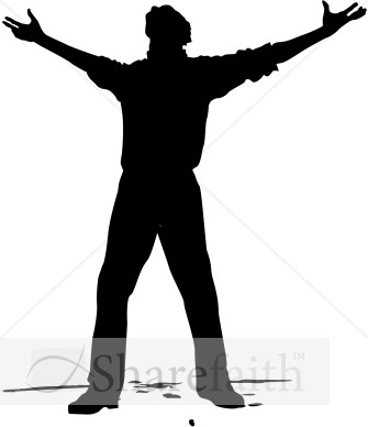 Stand on the ground open arms clipart clip freeuse library arms open wide clipart 20 free Cliparts | Download images on ... clip freeuse library