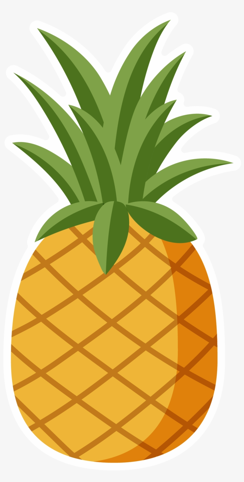 Stand tall clipart png black and white Jpg Royalty Free Library Mango Clipart Pineaaple - Pineapple ... png black and white