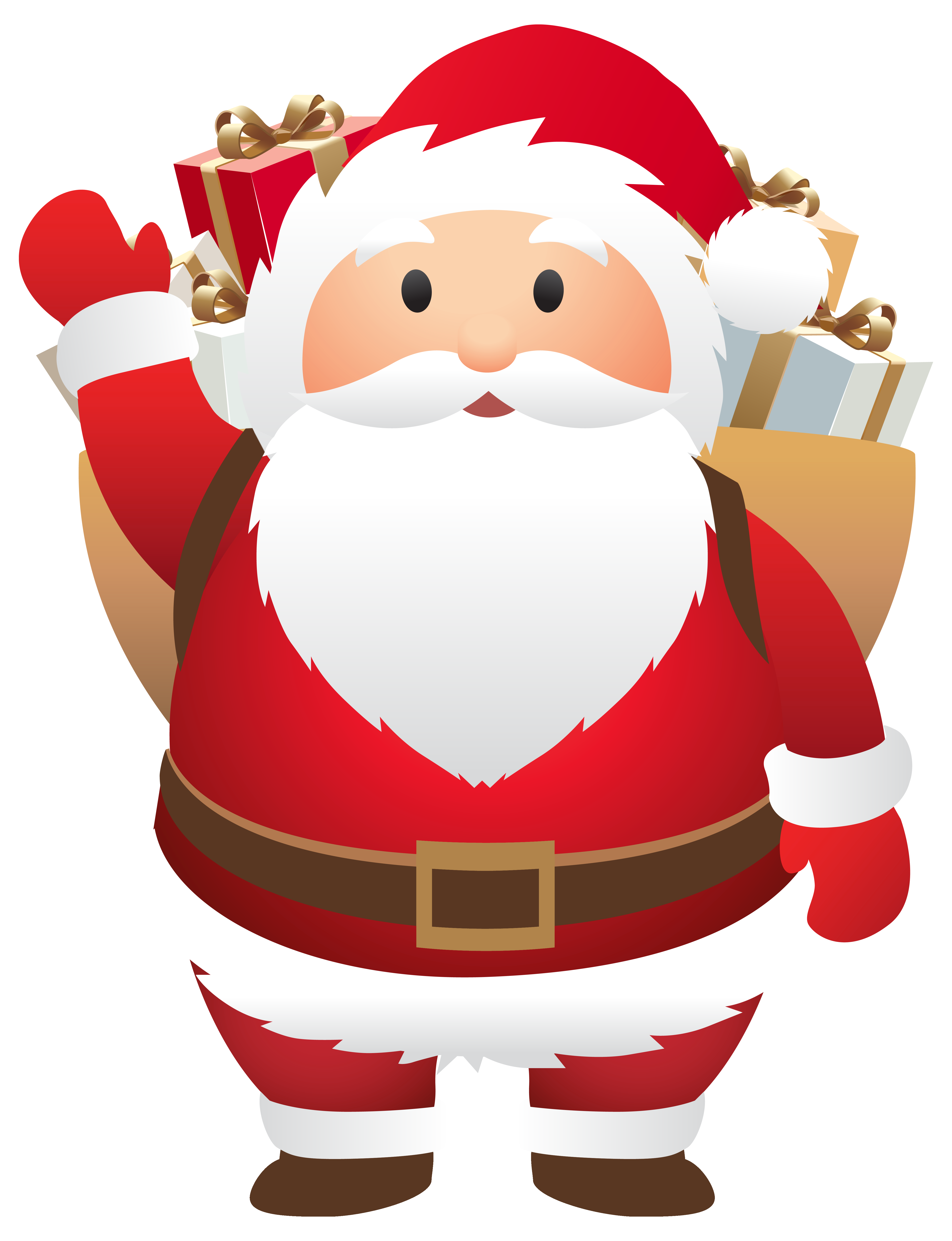 Stanta clipart royalty free stock Cute Santa PNG Clipart Image | Gallery Yopriceville - High ... royalty free stock