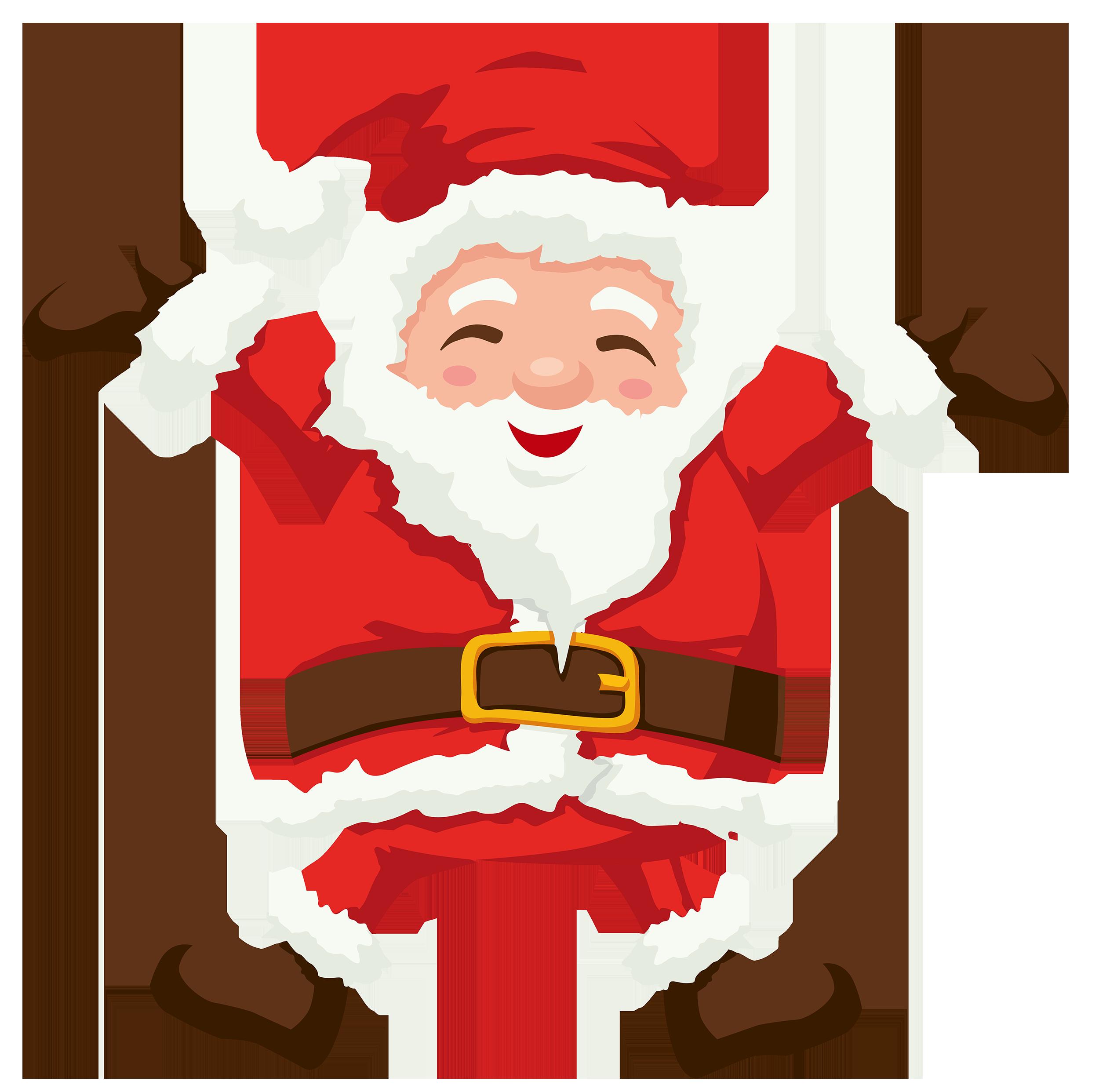 Stanta clipart clip freeuse download Santa PNG Clipart - Best WEB Clipart clip freeuse download