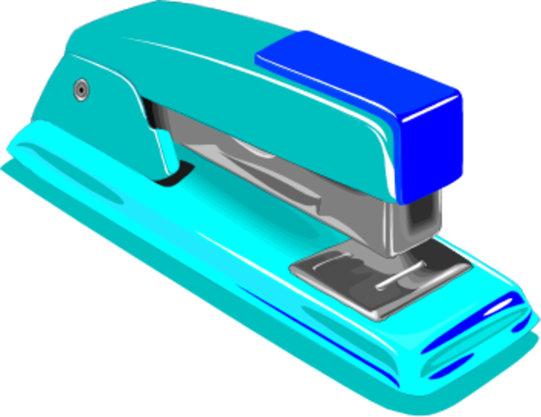 Staplers clipart picture black and white library Stapler clipart 6 » Clipart Station picture black and white library