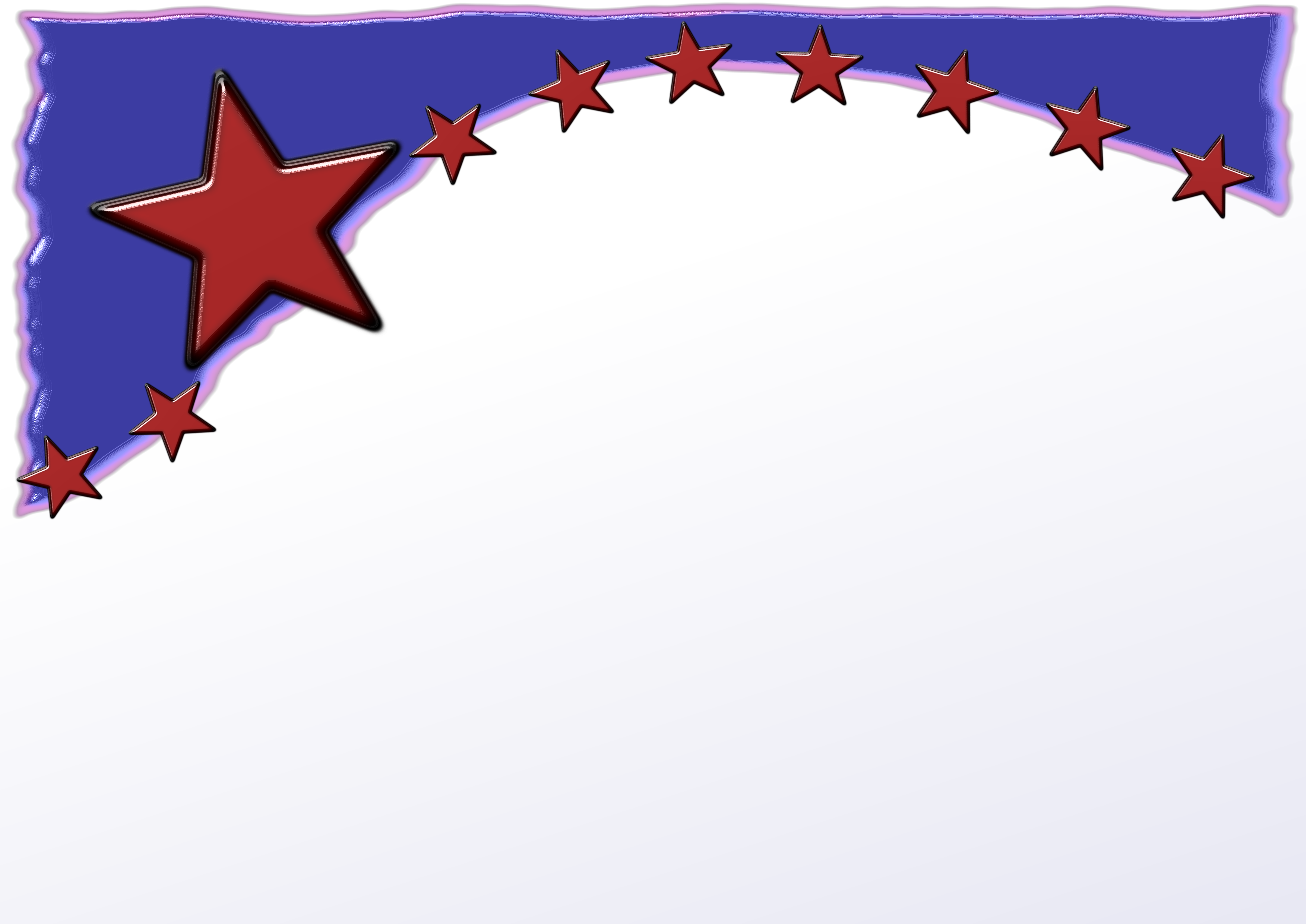Star banner clipart clipart freeuse Usbanner | Free Images at Clker.com - vector clip art online ... clipart freeuse