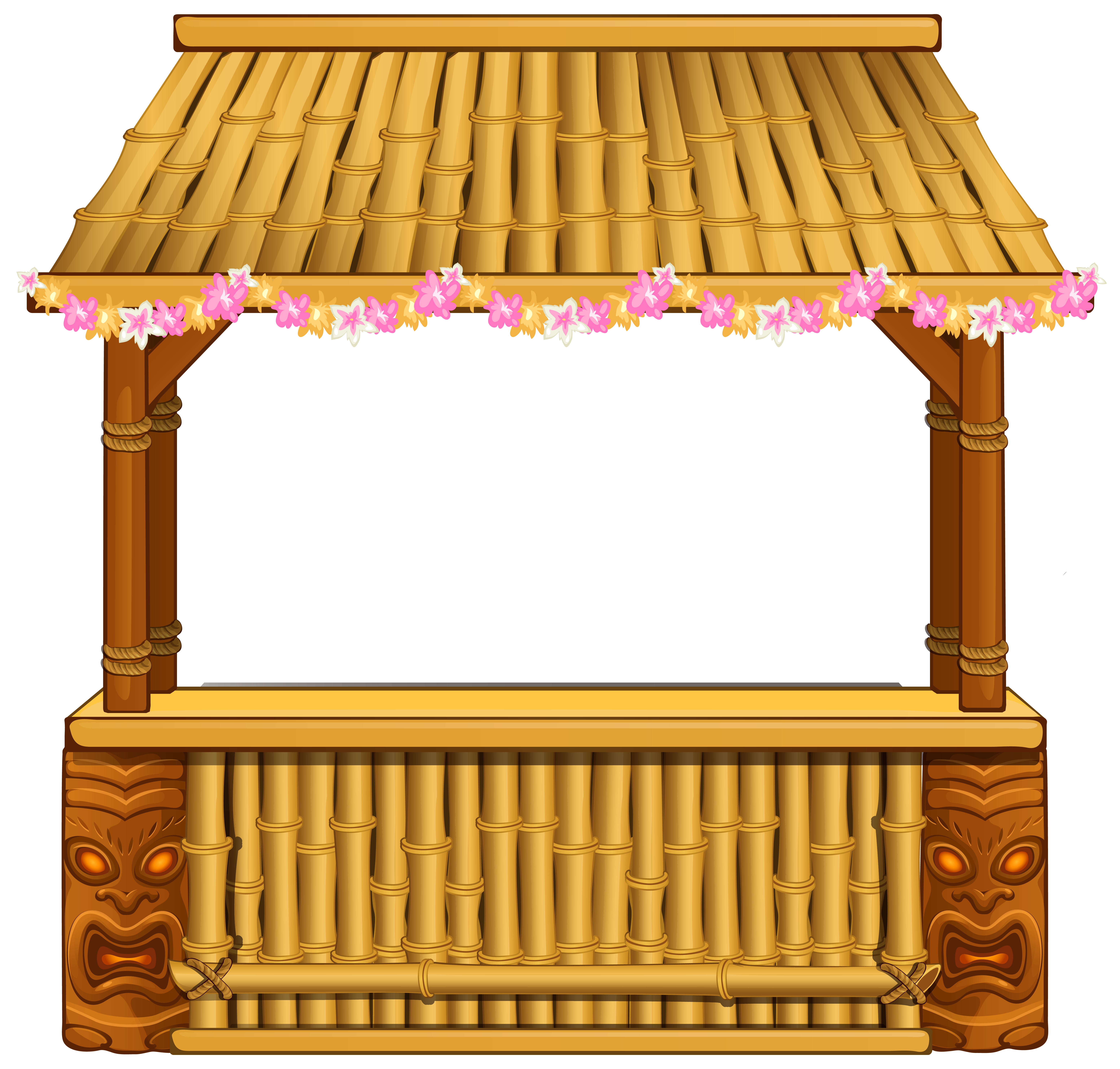 Star bar clipart png free stock Tiki Bar PNG Clipart Image | Gallery Yopriceville - High-Quality ... png free stock