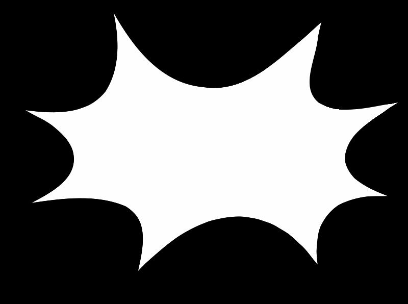 Star blast clipart vector free download Starburst Clip Art Outline | Clipart Panda - Free Clipart Images vector free download