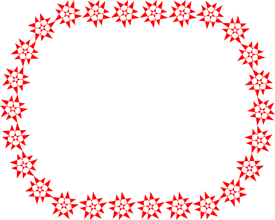 Star border clipart graphic royalty free Border Red | Free Stock Photo | Illustration of a blank border of ... graphic royalty free