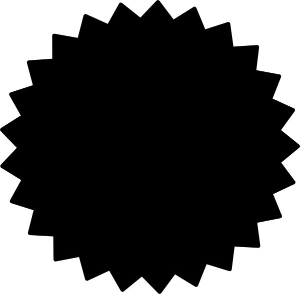 Star burst clipart black and white image freeuse download Starburst Clipart Black And White | Clipart Panda - Free Clipart Images image freeuse download