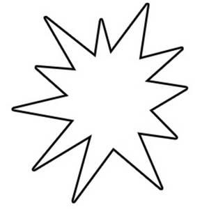 Star burst clipart jpeg clip library Starburst Clip Art Outline   Clipart Panda - Free Clipart Images clip library