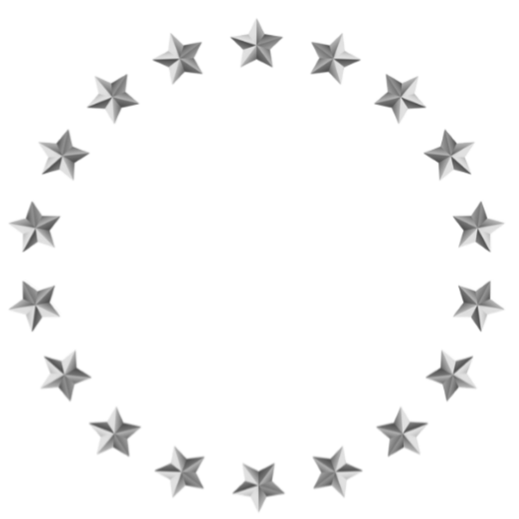 Star circle clipart black and white image library library medal stars circle natnat7w ftestickers... image library library