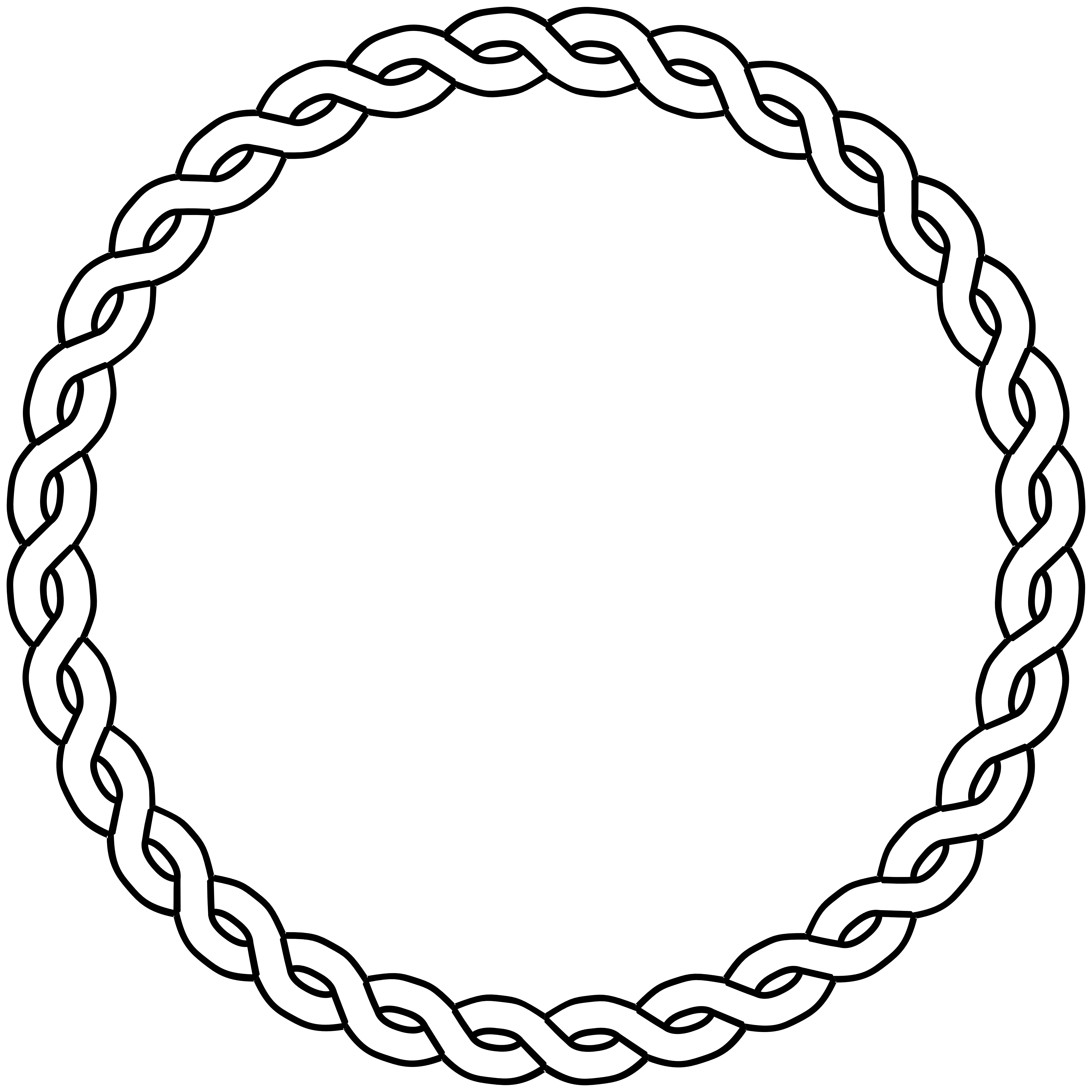 Star circle clipart black and white jpg freeuse library Rope Clipart Black And White | Clipart Panda - Free Clipart Images jpg freeuse library