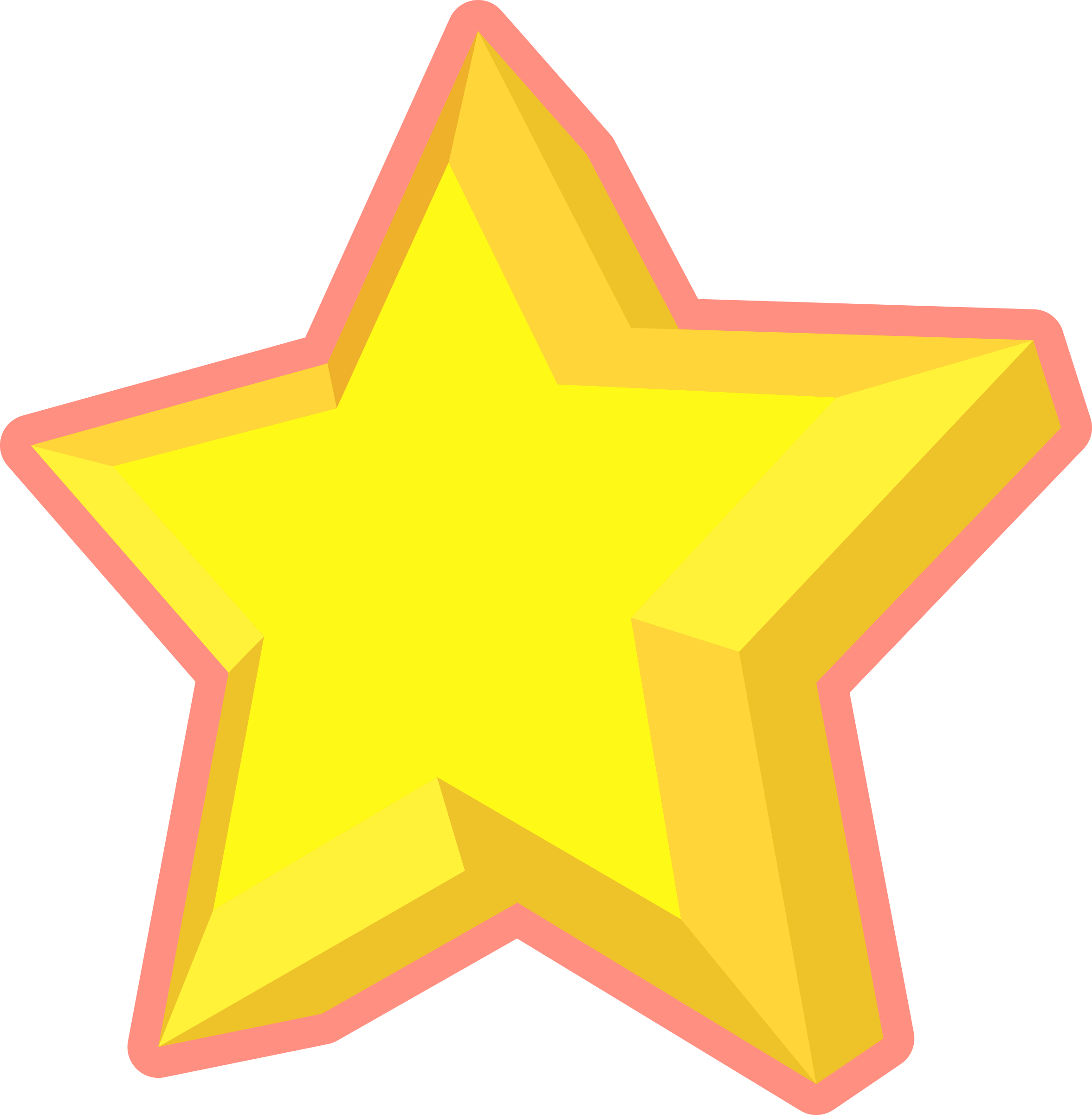Star clipart 3d picture royalty free stock Clipart - Simple 3D Star picture royalty free stock