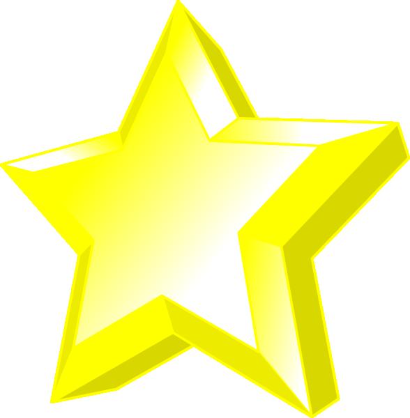 Star clipart 3d png free 3d Star Clip Art at Clker.com - vector clip art online, royalty free ... png free
