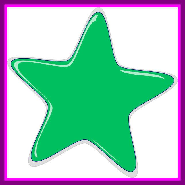 Star clipart border with a transparent background clipart freeuse library Amazing Pics Photos Green Star Png Transparent Background Frame ... clipart freeuse library