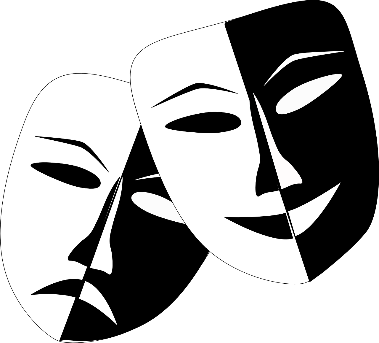 Star clipart black and white drama clip art black and white stock One Act Drama Festival returns to Rossmore | westcorktimes.com clip art black and white stock