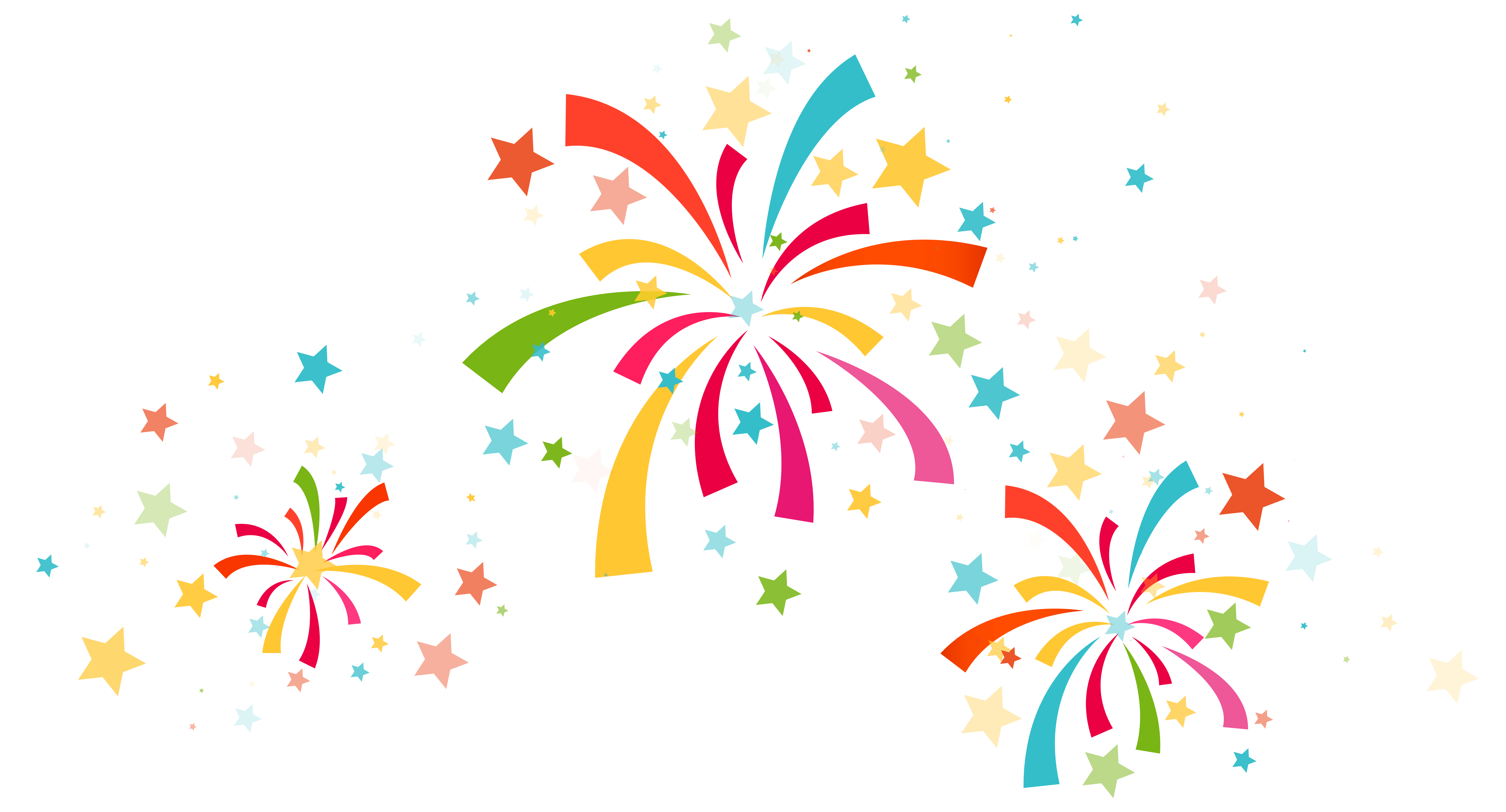 Star confetti clipart clipart stock Confetti Decoration PNG Clipart Image | Gallery Yopriceville - High ... clipart stock