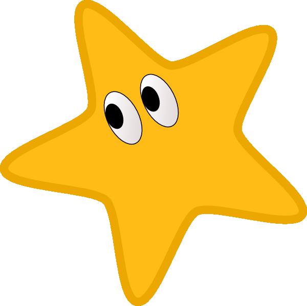 Star corner clipart clip art freeuse Star With Eyes Clip Art at Clker.com - vector clip art online ... clip art freeuse