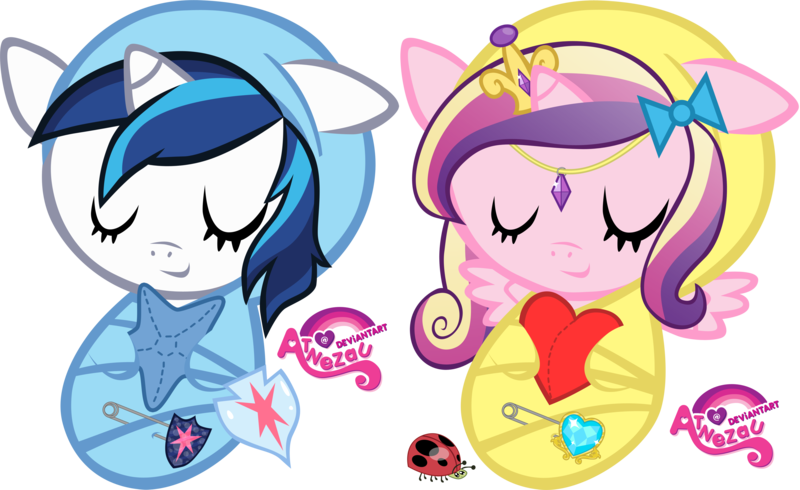 Star crossed lovers clipart jpg royalty free download Newborn Shining Armour and Cadance by atnezau on DeviantArt jpg royalty free download