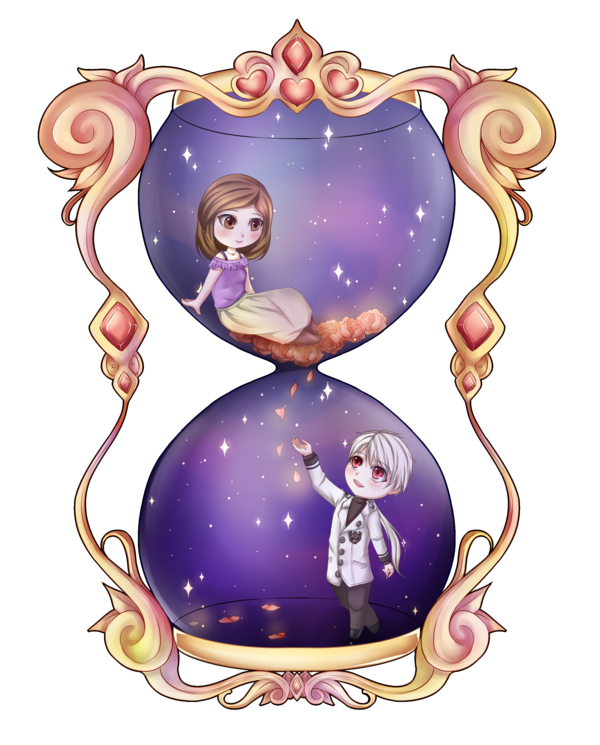 Star crossed lovers clipart png download Hourglass by Avistella on DeviantArt png download