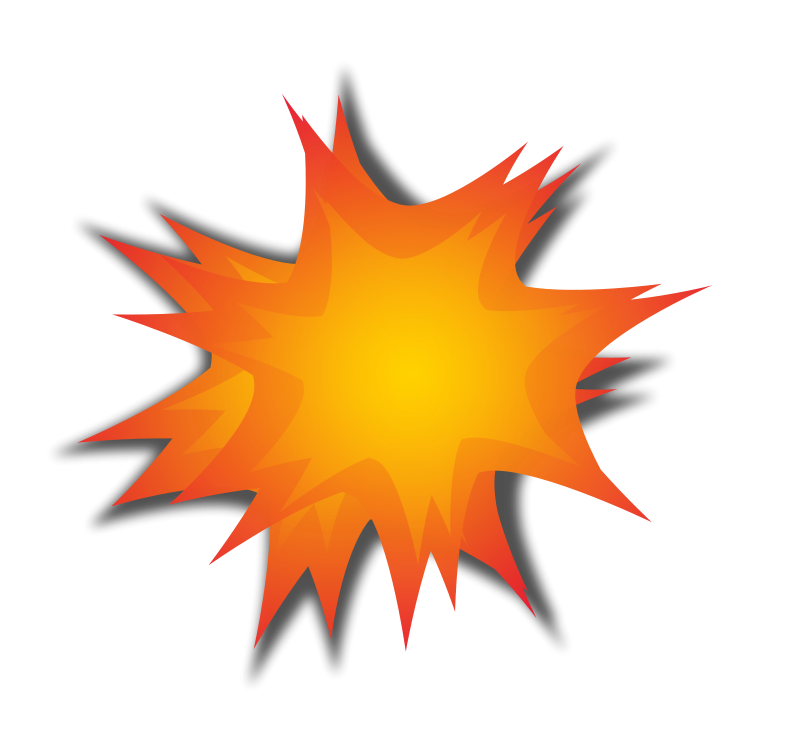 Star explosion clipart png Explosion Clipart png