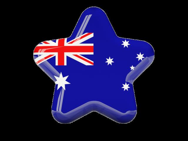 Star flag clipart png freeuse stock Australia Flag Clipart Icon | Web Icons PNG png freeuse stock
