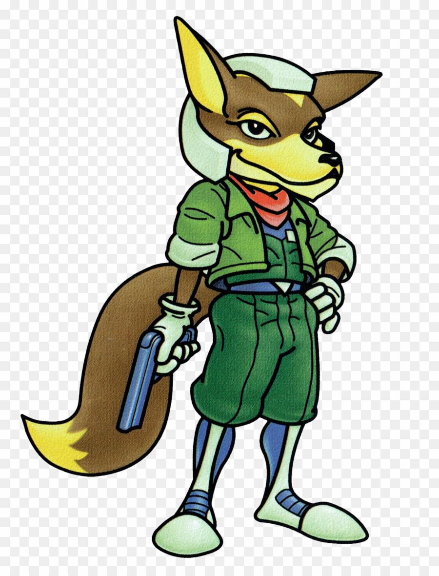 Star fox 64 clipart banner freeuse Fox Mccloud Smash 64 PNG Star Fox 64 3d Clipart download ... banner freeuse