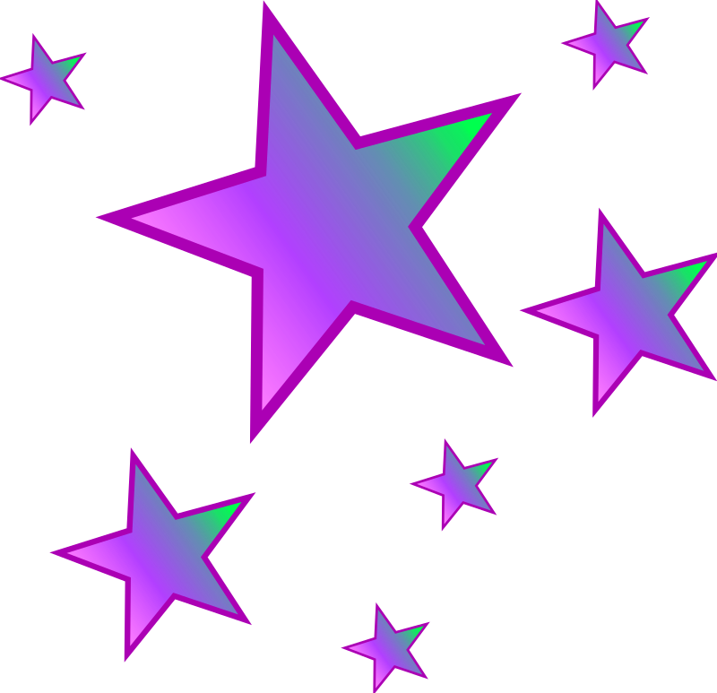 Star image clipart picture black and white library Clipart - Stars picture black and white library
