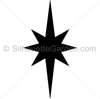 Star jpg clipart picture download Elongated star silhouette clip art. Download free versions of the ... picture download