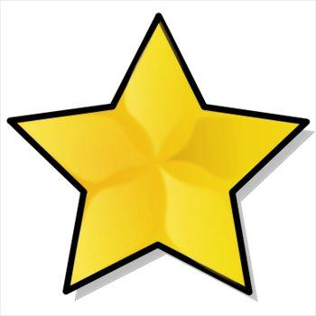 Star jpg clipart black and white Gold Star Clipart | Clipart Panda - Free Clipart Images black and white