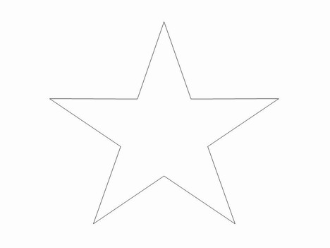 Star jpg clipart image black and white stock White Star Clip Art & White Star Clip Art Clip Art Images ... image black and white stock