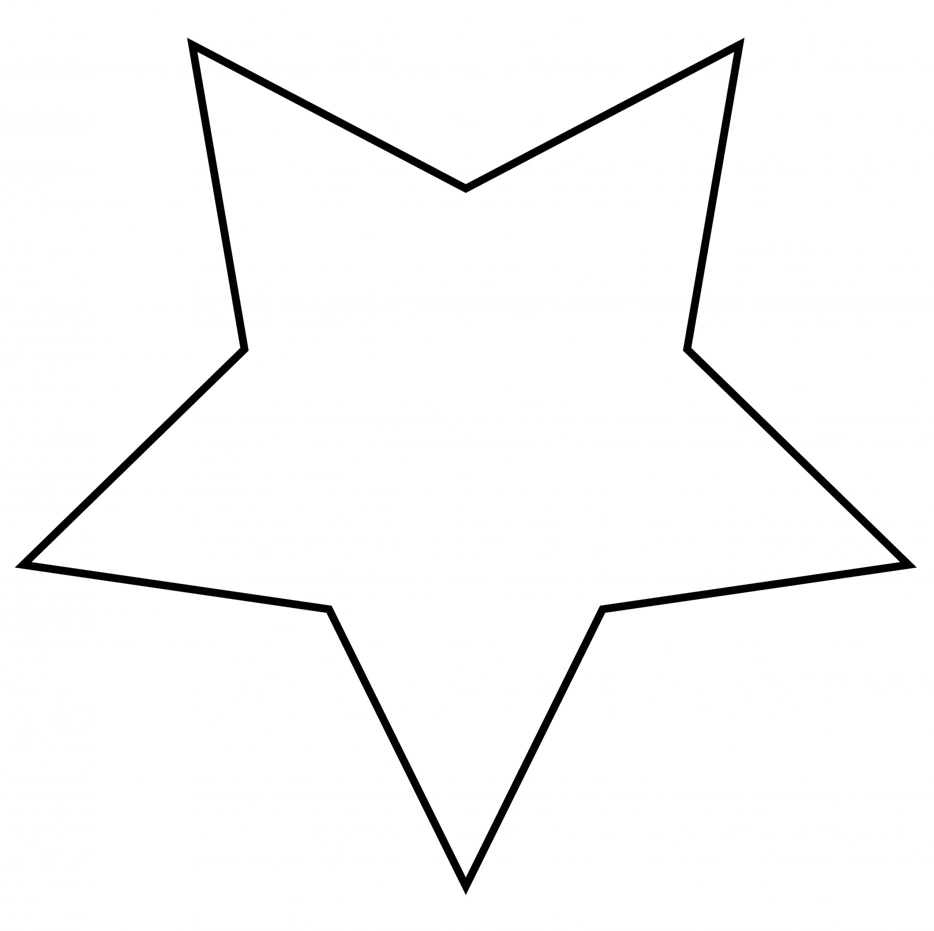 Star jpg clipart svg transparent stock Star Outline Clipart Free Stock Photo - Public Domain Pictures svg transparent stock