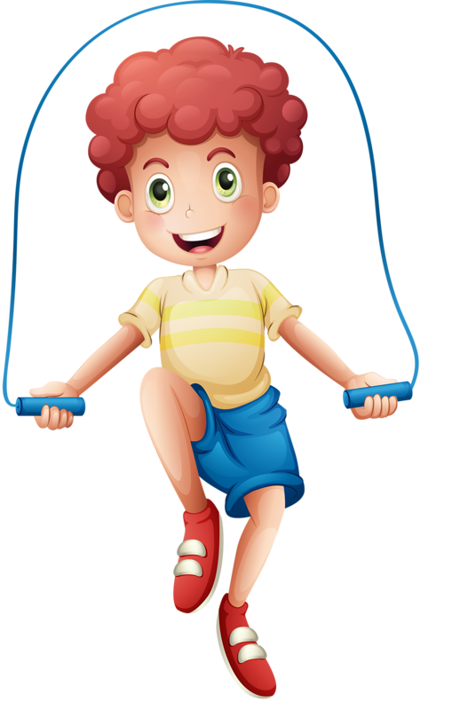 Star jump clipart png black and white library Boy jump roping -clip art | Clip Art - Children/people | Pinterest ... png black and white library