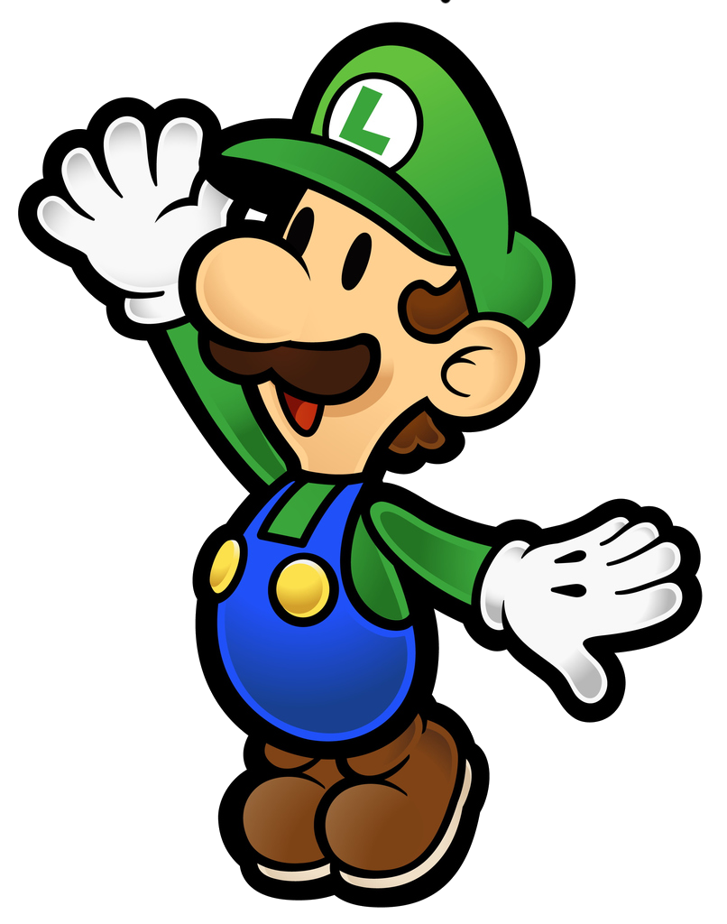 Star jump clipart clipart transparent library Luigi | Paper Mario Wiki | FANDOM powered by Wikia clipart transparent library